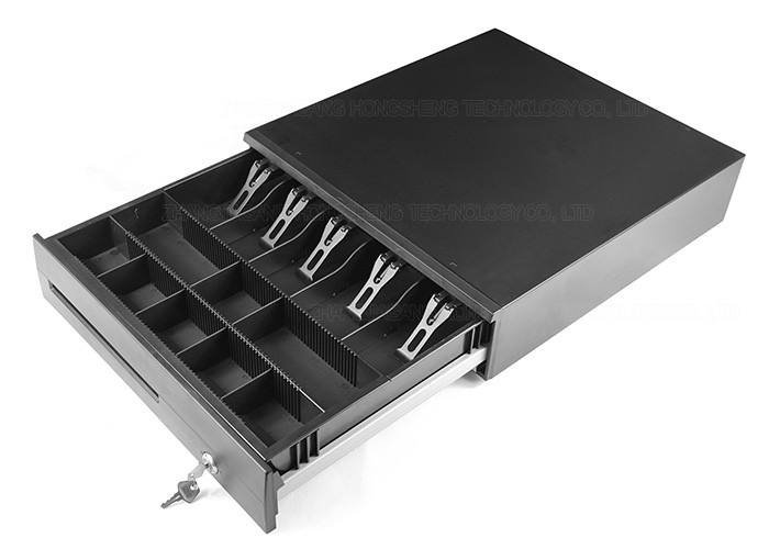 16.7 Inch POS Metal Retail Cash Drawer Under Counter Mount Cash Drawer